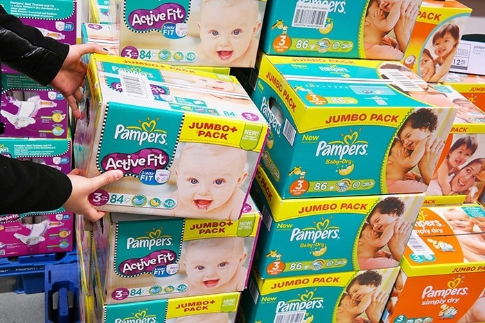 Baby Shower Gift Pampers Diapers
