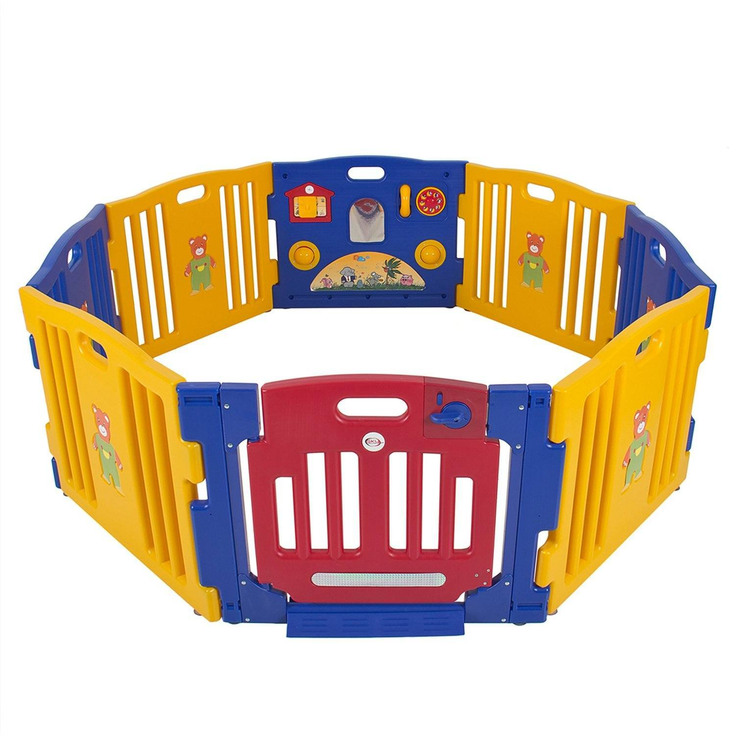 Best play yards and playpens for twins twinstuff for Childrens play yard