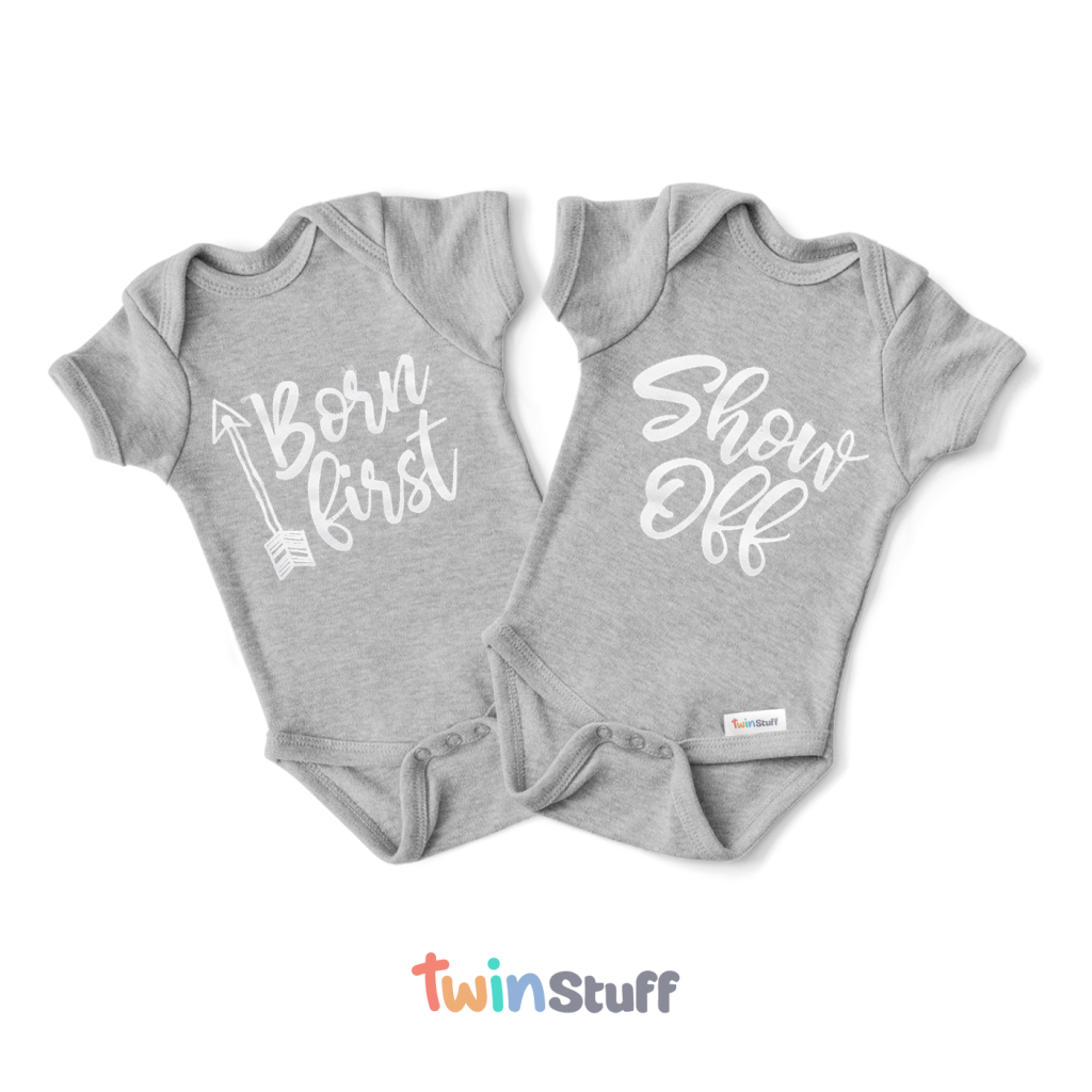 twin onesies born first