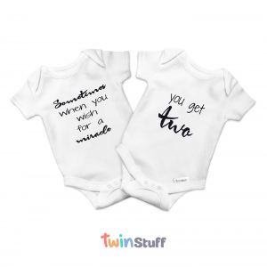 twin onesies gifts