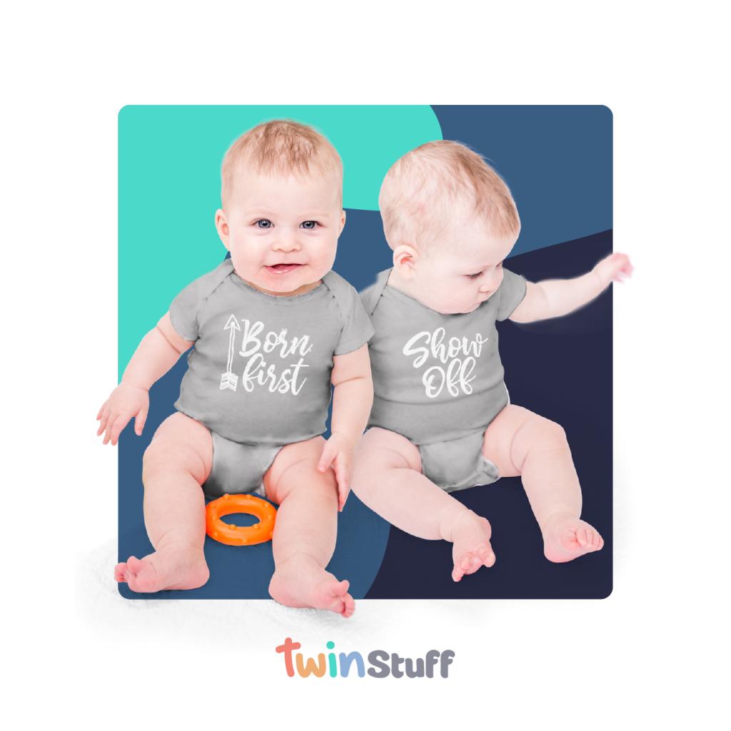 twin baby onesies amazon
