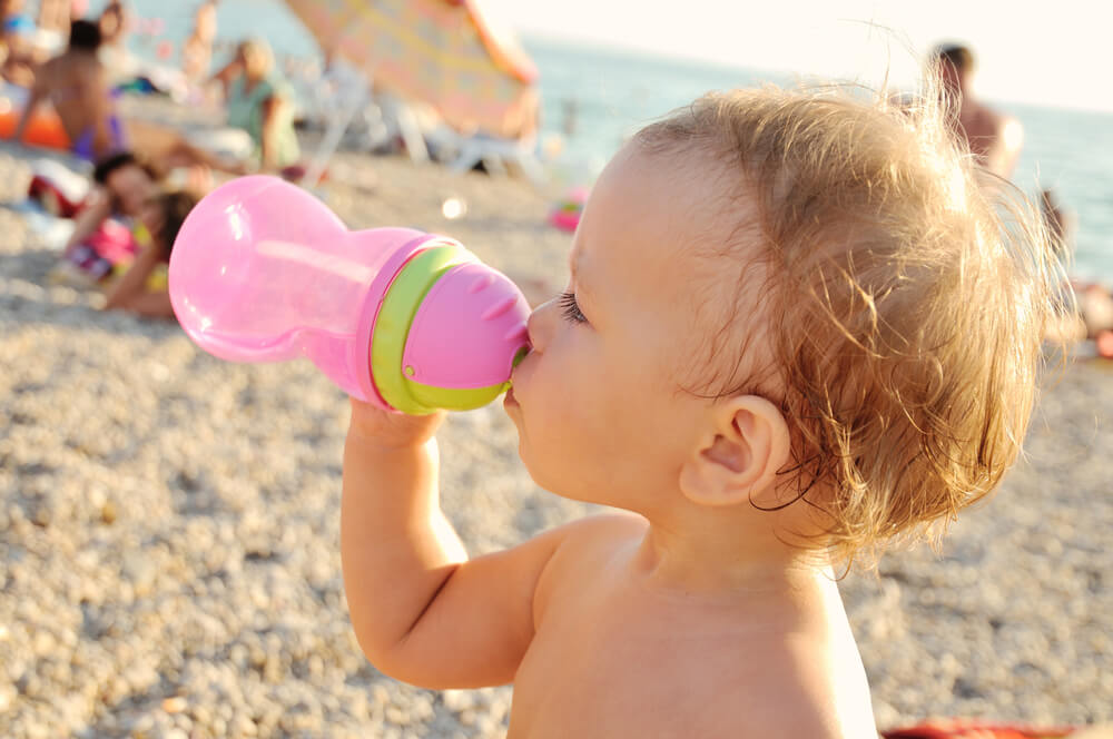 Baby Beach Water Bottle